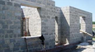 Как построить дом из шлакоблоков