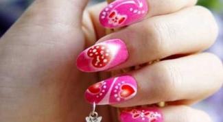 Как сделать самим узор на ногтях
