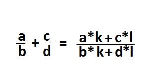 How to find common denominator