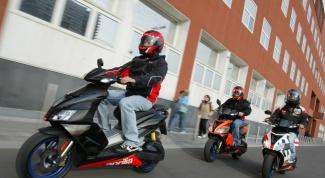 Как получить права на скутер