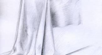 Как рисовать драпировки