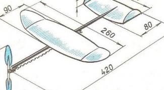 Как сделать самолет из пенопласта