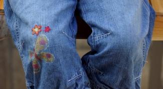 Как сделать заплатки на джинсы
