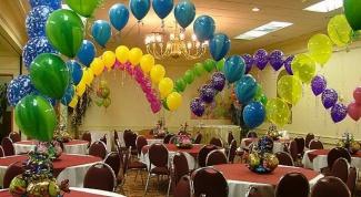 Как сделать арки из шаров