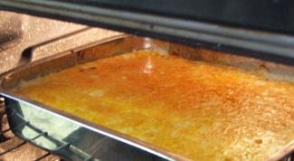 Как готовить картофельную запеканку