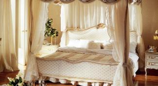 Как сделать кровать с балдахином