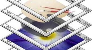 Как соединить слои в фотошопе