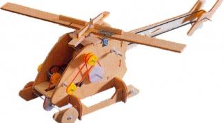 Как сделать вертолет на пульте управления