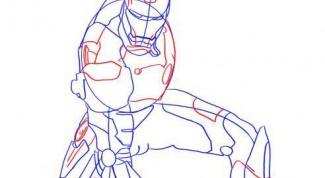 Как рисовать железного человека