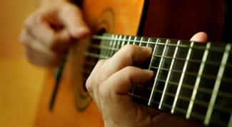 Как брать аккорды на гитаре