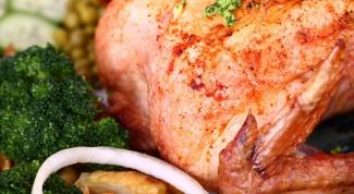 Как поджарить курицу