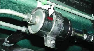 Как заменить топливный фильтр на вазе