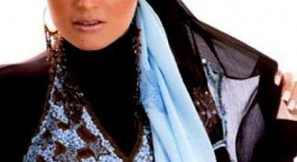Как завязать правильно платок для мусульманки