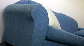 Как перетягивать диван