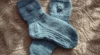 Как вывязывать пятку носка