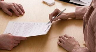 How to conclude a contract with an individual