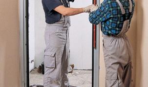 Как поставить дверную коробку
