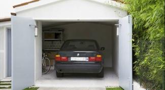 Как поднять гараж