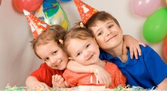 устроить день рождения ребенку дома
