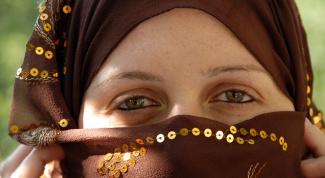 Как завязывать платок по-арабскии