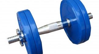 Как подобрать вес гантелей