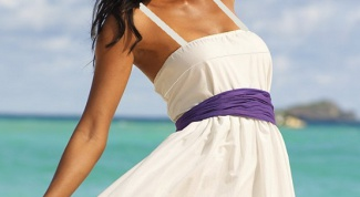 How to sew sundress pattern