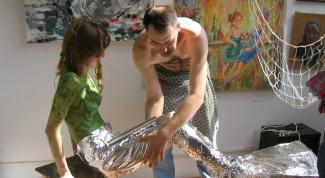 Как сшить хвост русалки