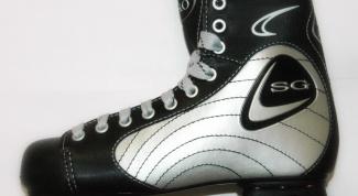 Как завязывать хоккейные коньки