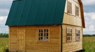 Как построить ломаную крышу