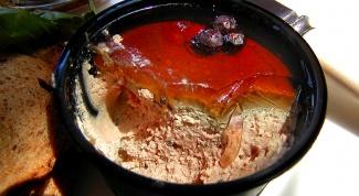 Как готовить паштет из утки с вишней