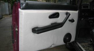 How to remove trim rear door