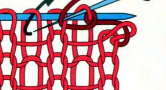 Как закрыть петли иглой