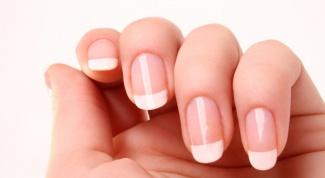 Как удлинить ногтевое ложе