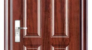Как установить железную дверь самому
