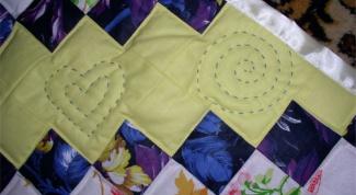 Как сшить одеяло из лоскутков