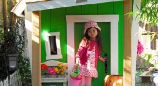 Как построить детский домик
