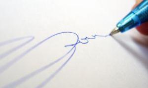 Как узнать характер по подписи