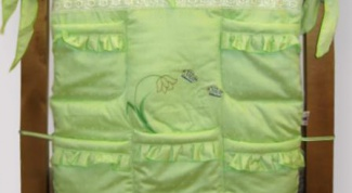 Как сшить карман на кроватку