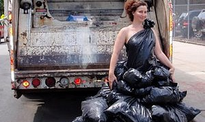Как сделать платье из пакетов