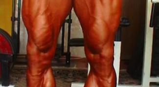Как накачать икроножную мышцу