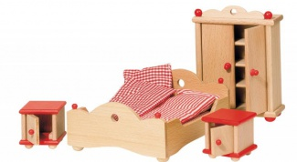 How to make furniture for dolls