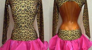 Как сшить платье для танцев