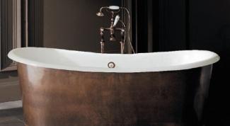 Как устанавливать чугунную ванну