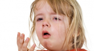 How to calm a cough in a child