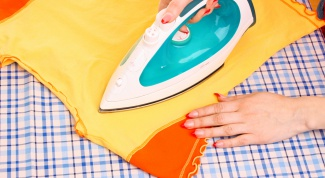 How to remove the Shine from iron on clothes