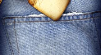 Как убрать жвачку с джинсов
