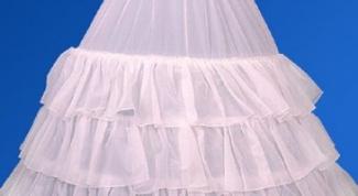Как сшить пышную юбку из сетки
