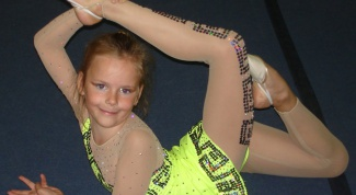 How to sew a leotard for rhythmic gymnastics