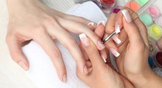 Как делать лепку на ногтях