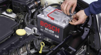 How to connect a car battery